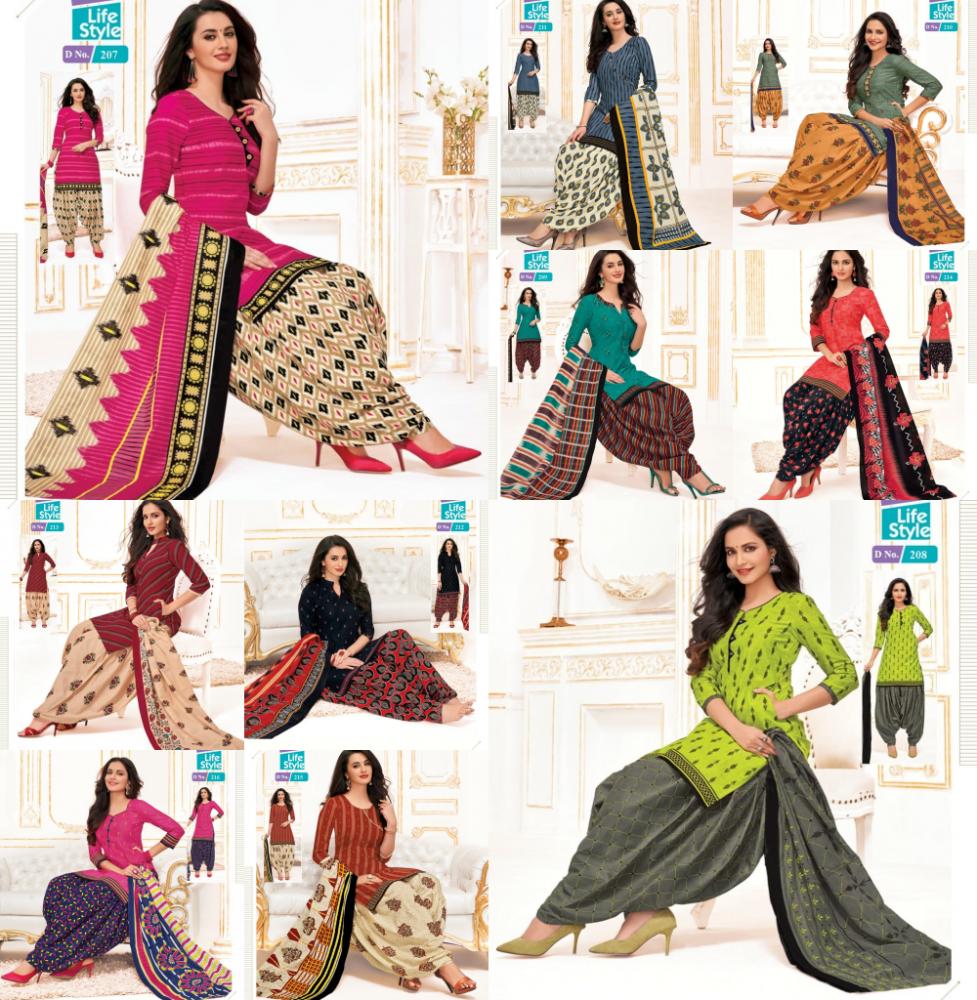MCM Priya Vol 9 Stitched XL size A
