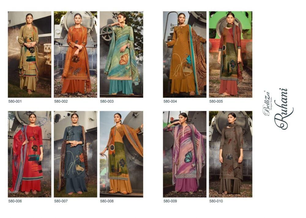 Belliza Ruhani Woolen Collection