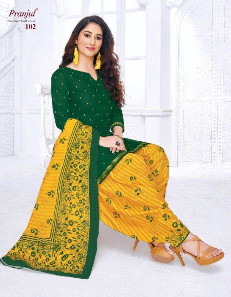 Pranjul Premium Collection Patiyala Special Unstitched