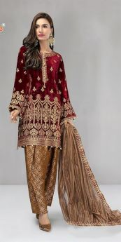 Shree Fabs Mariya B Velvet Collection