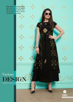 Kurti Designs Catalog from Wholesaler of Kurtis Soalnki Textiles