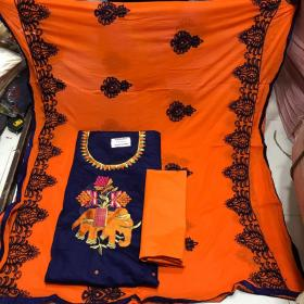 DUPATTA AND TOP WORK 63