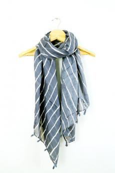 Cotton Stole with Tassels