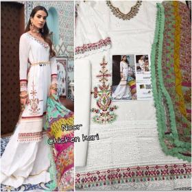Saniya Trendz Noor Chickenkari with Open Image