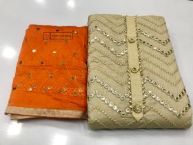 Dupatta and Top Work 120