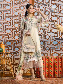 Ayesha Zara Premium Collection Vol 2 Chiffon Dupatta with Open Image