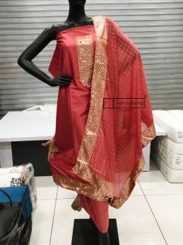 Dupatta and Top Work 122