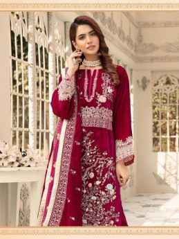 Shree Fabs Shaista Embroidered Velvet Collection