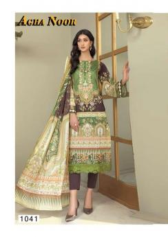 Agha Noor Vol 4 Luxury Lawn Collection