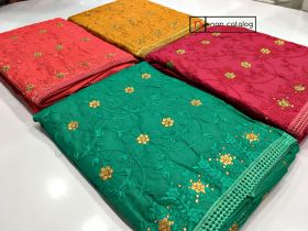 Dupatta and Top Work 121