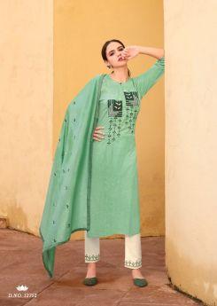 Kalaroop Kajree Aangan Stitched