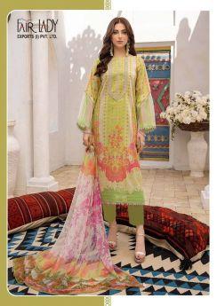 Mumtaz Arts Fair Lady Chunari Vol 2 Chiffon Dupatta