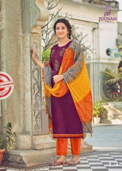 Poonam Upsana Stitched