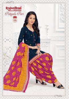 Rajasthan Pari Patiyala Vol 7 B Stitched - L