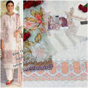 Rinaz Nureh Luxury Lawn Collection Vol 2 with Open Image