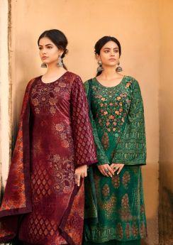 Levisha Surbhi Velvet Digital Print Collection