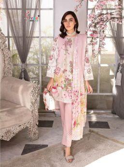 Shree Fabs Ayesha Zara Premium Collection NX Chiffon Dupatta with Open Image