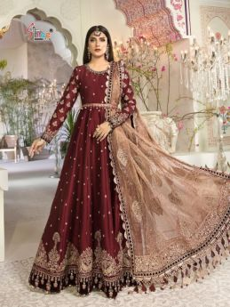Shree Fabs Mbroidered Mariya B Vol 14 with Open Image