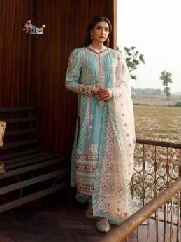 Shree Fabs Qalamkar Luxury Festivel Lawn with Open Image